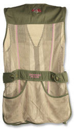 Browning Sporter II Shooting Vest For Her Rear  View