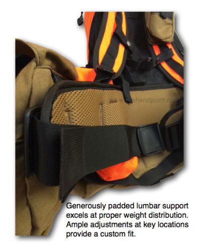 Q5 Centerfire Upland Quail Or Pheasant Strap Vest