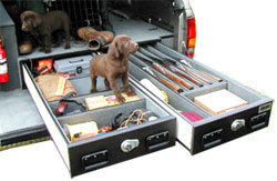 TruckVault gun storage systems carries the essentials securely