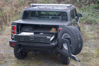 Truck Vault for open truck bed